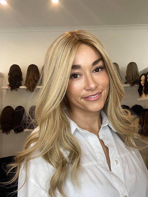 "20"" Premium Remy Wig - Ultra Light Density - Ash Blonde"