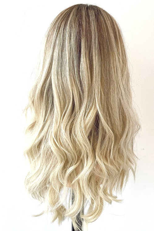 "20"" Luxury European Hair Wig - Custom Golden Blonde"
