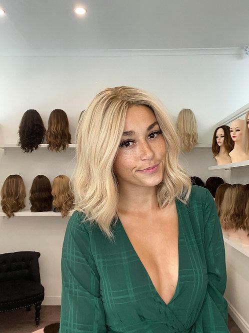 """16"""" Premium Remy Wig - Golden Blonde"""