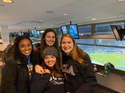Press Box at the Rose Bowl
