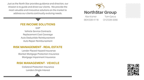 northstar group insurance graphic design postcard