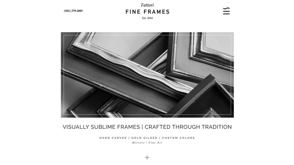 Fattori Fine Frames