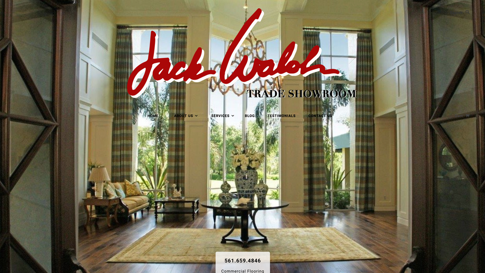 Jack Walsh Trade Showroom
