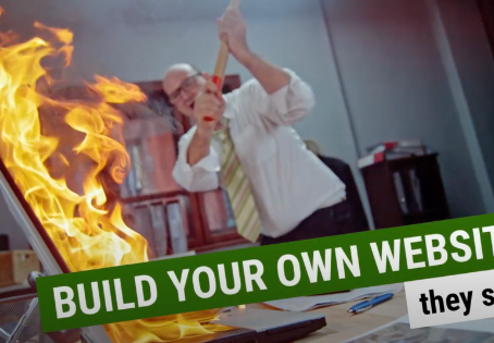 """125 REASONS WHY """"DIY"""" WEBSITE DESIGN MIGHT NOT BE A GOOD IDEA."""