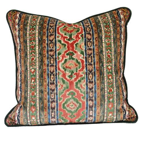 Tapestry Velvet Pillow
