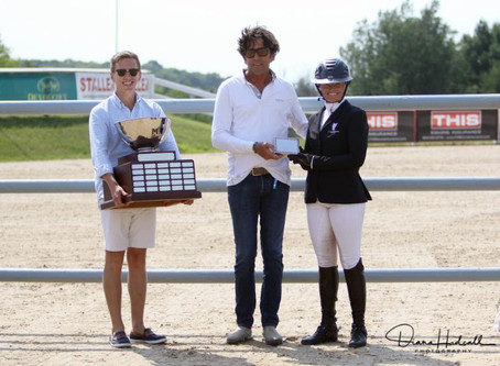 Gallagher/Meller Sport Horses Presents to Erynn Ballard at the Great Lakes Equestrian Festival