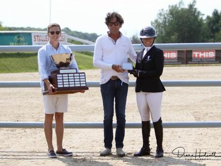 Gallagher/Meller Sport Horses Presents to Erynn Ballard at the Great Lakes Equestrian Festival
