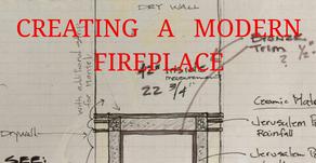 CREATING A MODERN FIREPLACE