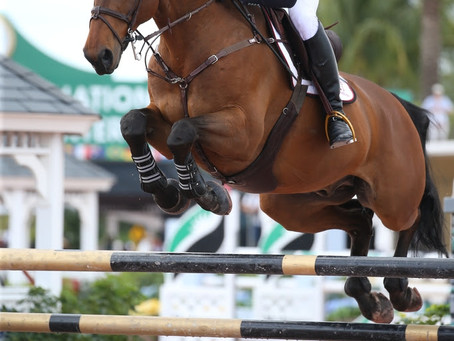 Canada's Ian Millar Presented with Kate Nash Boone Style Award During WEF Nations Cup Week