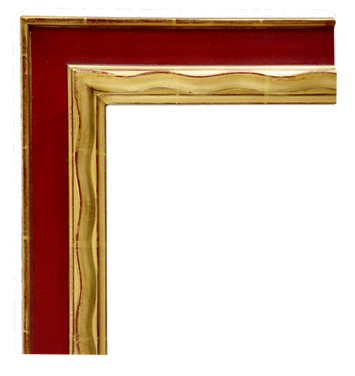 Picasso Frame: Red