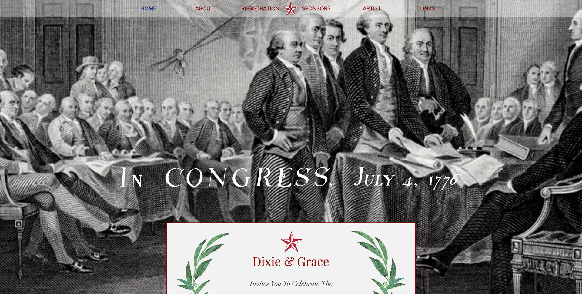 Declaration of Independence Event