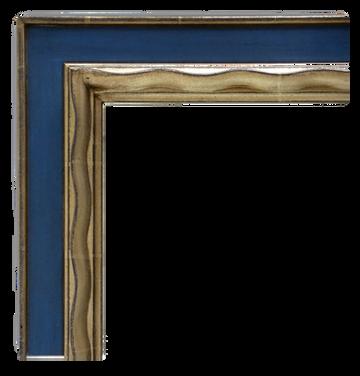 Picasso Frame: Blue