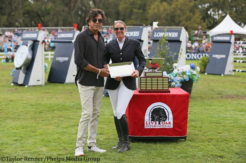 MICHAEL MELLER PRESENTS ANDRE THIEME THE E2 SHOW JUMPERS LEADING RIDER AWARD
