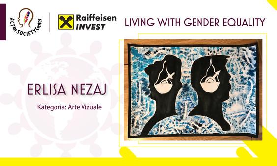 Konkursi LIVING WITH GENDER EQUALITY: Erlisa Nezaj