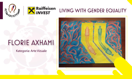 Konkursi LIVING WITH GENDER EQUALITY: Florie Axhami