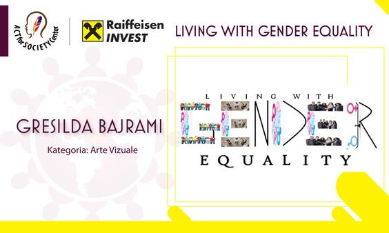 Konkursi LIVING WITH GENDER EQUALITY: Gresilda Bajrami