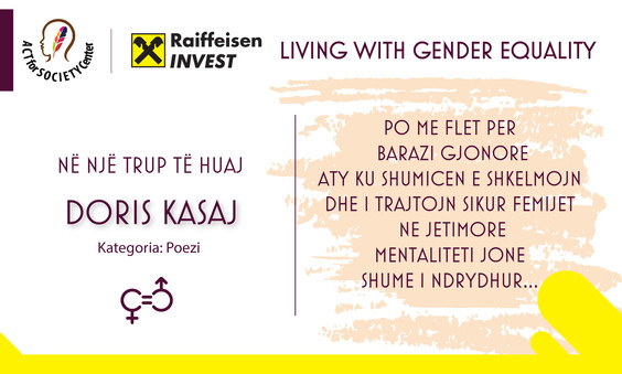 Korkursi LIVING WITH GENDER EQUALITY: Doris Kasaj