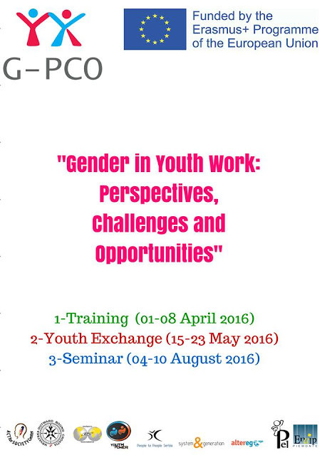 """Gender in Youth Work: Perspectives, Challenges and Opportunities /G-PCO"""