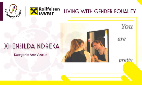 Konkursi LIVING WITH GENDER EQUALITY: Xhensilda Ndreka