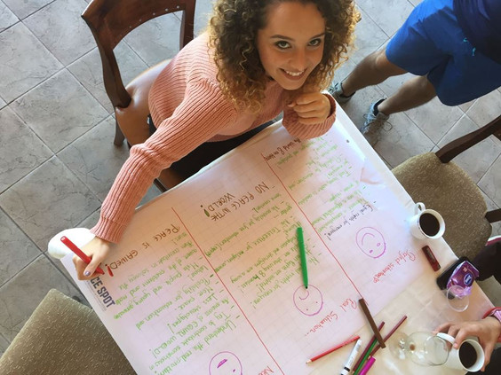 Nerimanda Bajraktari talks about TransformERS project in Bulgaria.