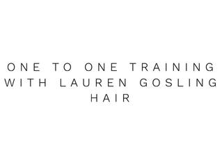 Training with Lauren Gosling Hair