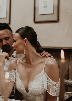 Italy wedding hair.