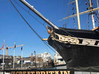 BTS Behind The Scenes of the SS GREAT BRITAIN PHOTO SHOOT