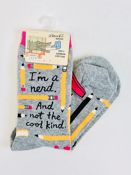 Women's Nerd Socks