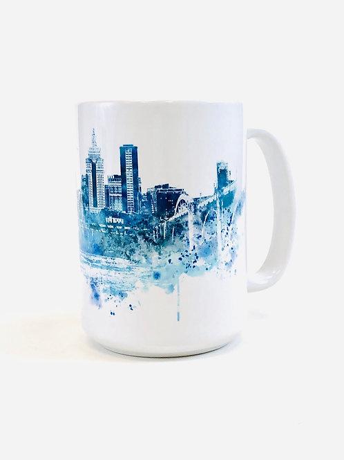 Minneapolis Skyline Large Coffee Mug