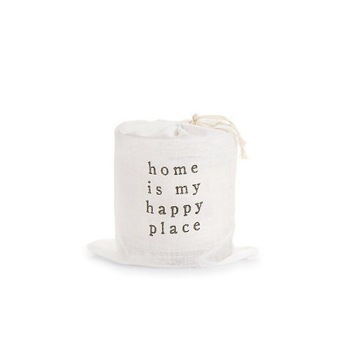 Home Is My Happy Place Candle