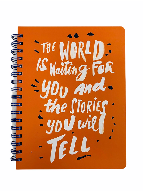 The Stories You Will Tell Notepad/Journal