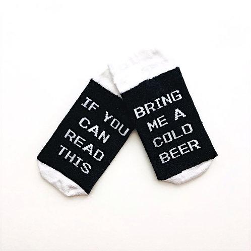 Read This/Beer Unisex Socks