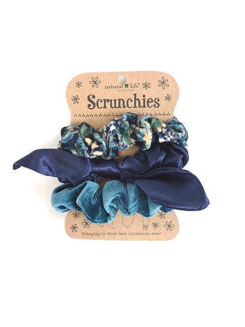 Scrunchies- Set of 3