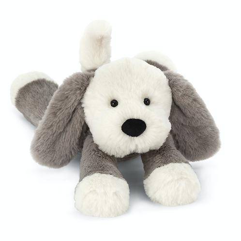 Jellycat Bashful Grey and Cream Puppy