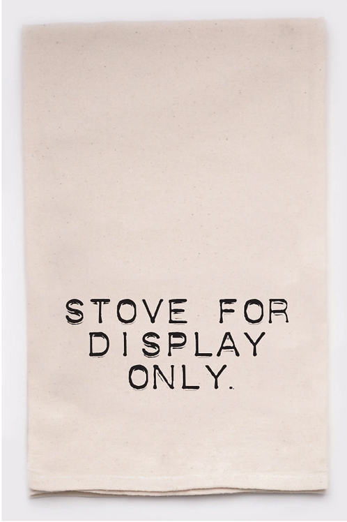 For Display Only Dish Towel