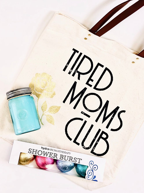 Tired Moms Club Gift Set