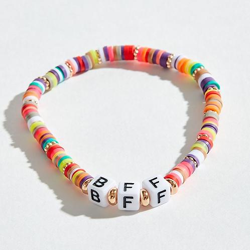 BFF Beaded Bracelet