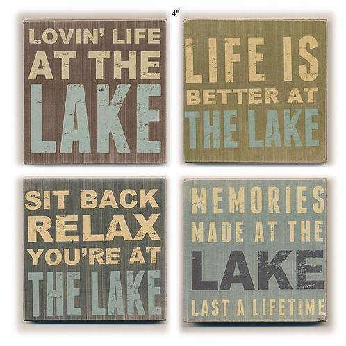 Lake Coaster Set