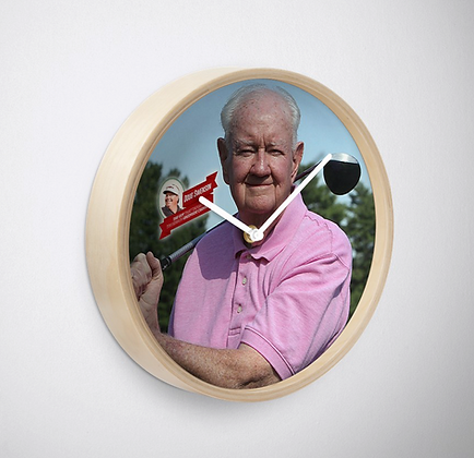 The Guy That Taught Tim Herron Greenside Chipping Wall Clock
