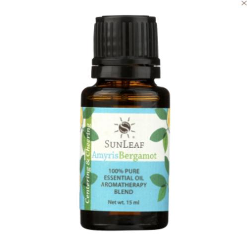 Sunleaf Naturals Pure Essential Oil- Amyris Bergamot