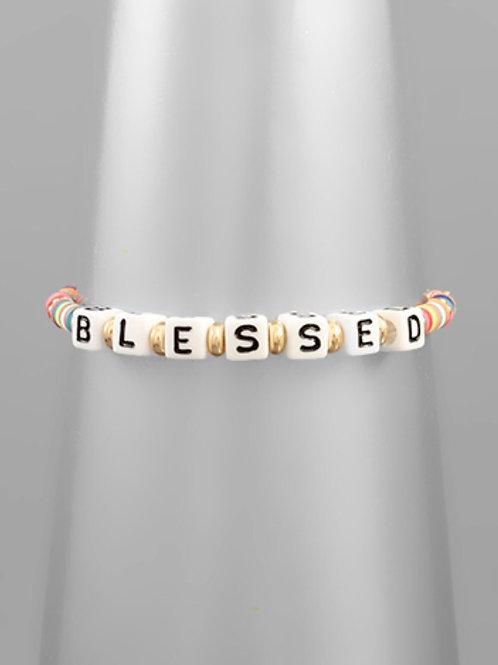 Blessed Beaded Bracelet