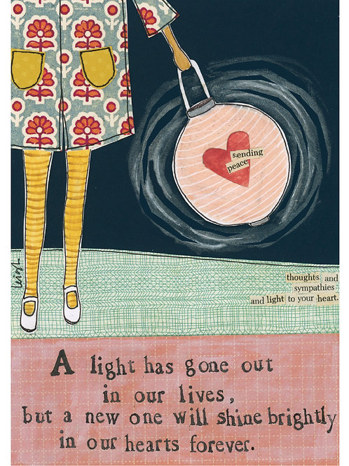 Shine in our Hearts Greeting Card