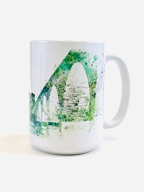 Stone Arch Bridge Large Coffee Mug