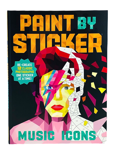 Paint By Sticker-