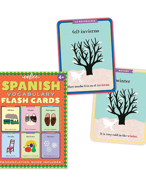 Eeboo Spanish Flashcards