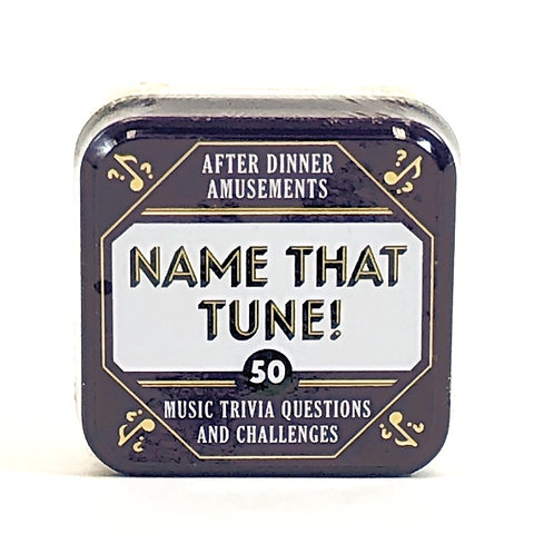 Name That Tune- 50 Music Trivia Questions and Challenges