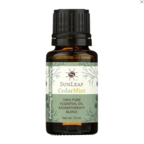 SUnleaf Naturals 100% Pure Essential Oil- Cedar Mint