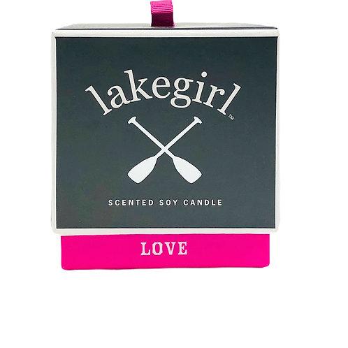 "Lakegirl ""Love"" Candle"