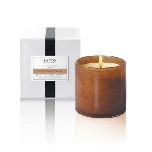 Lafco Candle- Amber Black Vanilla- 15.5 oz.