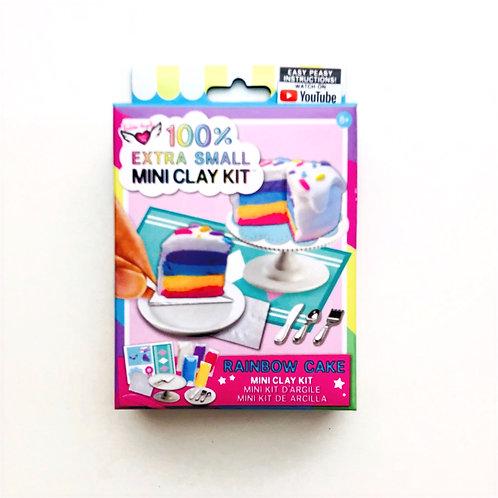 Mini Cake Making Clay Kit